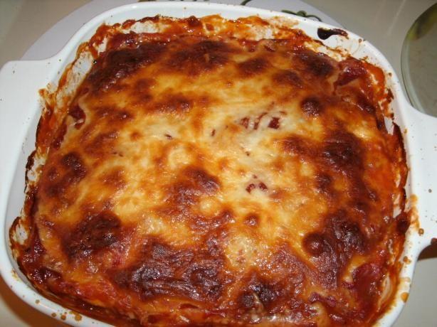 Spaghetti Squash Lasagna Casserole (Low Carb)