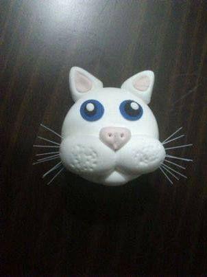 El gatito de nuestra amiga Carmen...