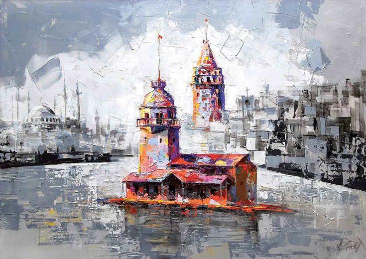 Ks Games 1000 Parça Yapboz Kız Kulesi ve Galata Silueti