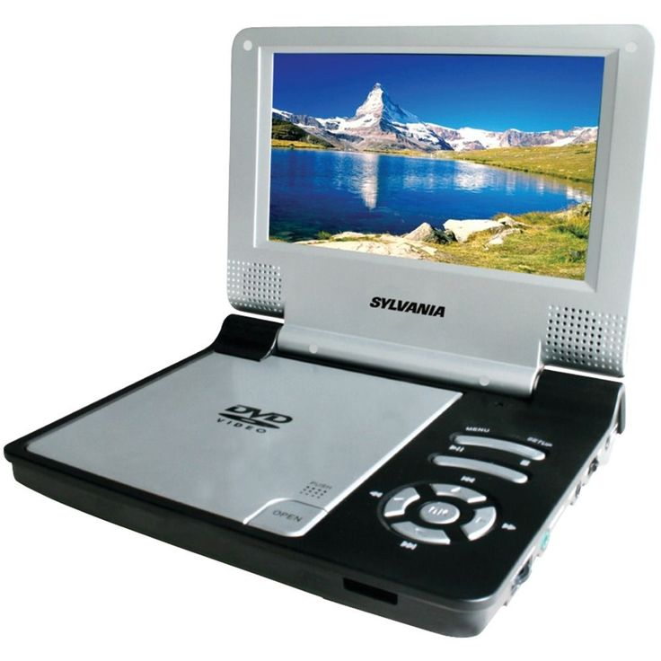 """Sylvania 7"""" 16:9 Widescreen Portable DVD Player #Curtis"""