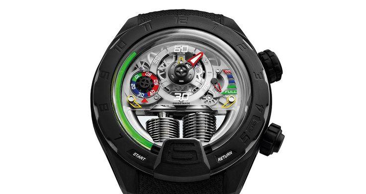 La montre de Fabien Barthez