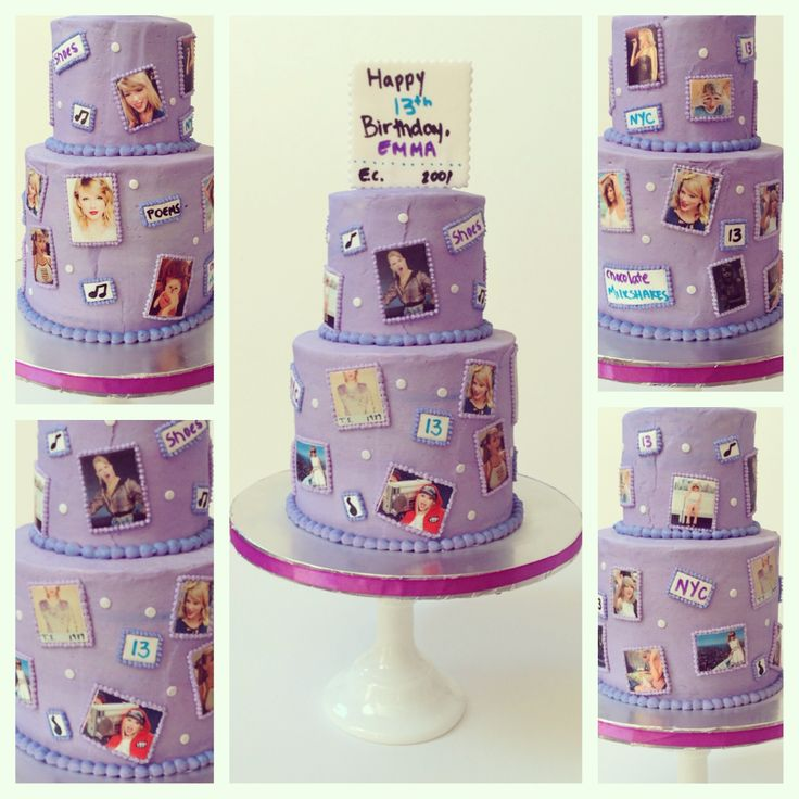 taylor swift birthday cake taylor swift themed cake