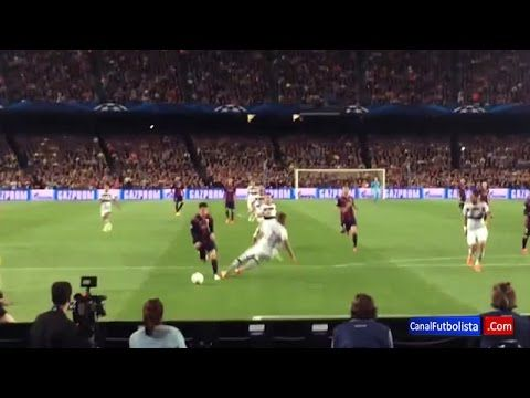 Increible gol de Messi vs Bayern Munich desde diferentes ángulos • 2015 HD - YouTube