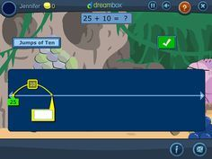Free DreamBox K-8 math virtual manipulatives to use with any whiteboard bring math to life for students in large-or-small group instructional settings.