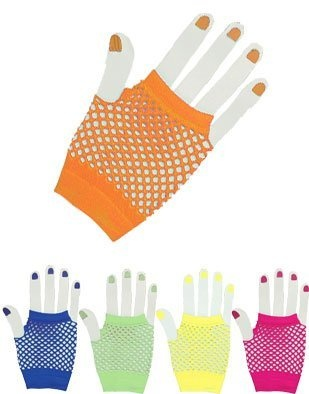 Orange Glam Rock Fishnet Fingerless Costume Half Gloves by Rhode Island Novelty, http://www.amazon.com/dp/B0016LYN8M/ref=cm_sw_r_pi_dp_kfSXpb1VT4HA8