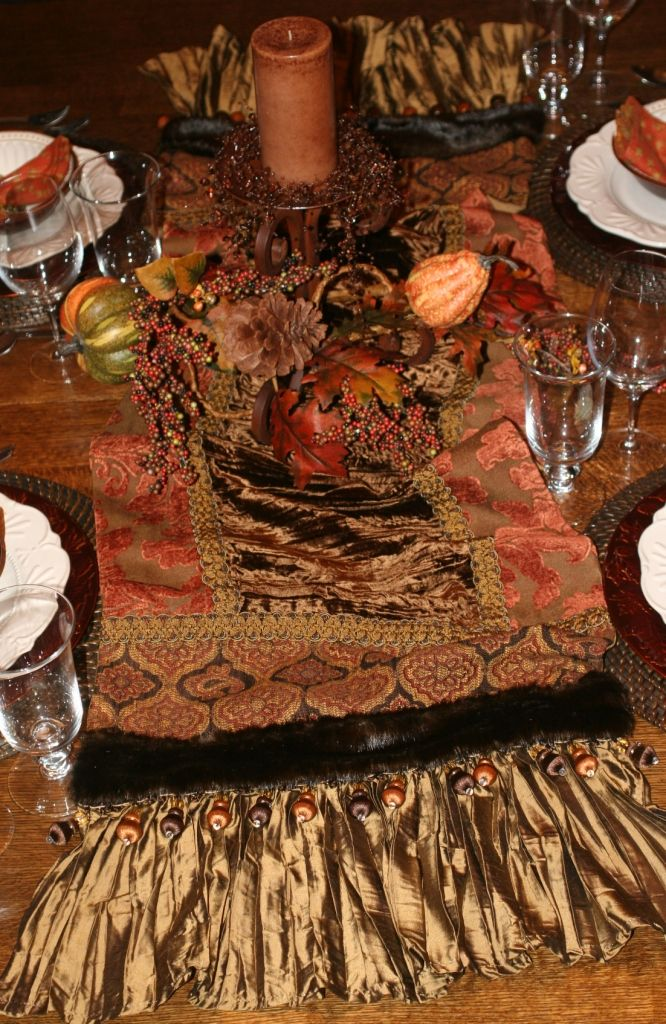 Luxury Table Runners by Reilly-Chance Collection: #144 ...