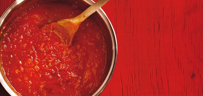 La relâche... un moment idéal pour cuisiner sa première sauce tomate !