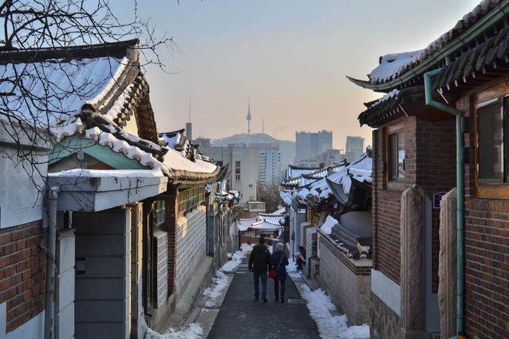 사진은 권력이다 :: 눈이 내린 북촌 한옥마을과 삼청동
