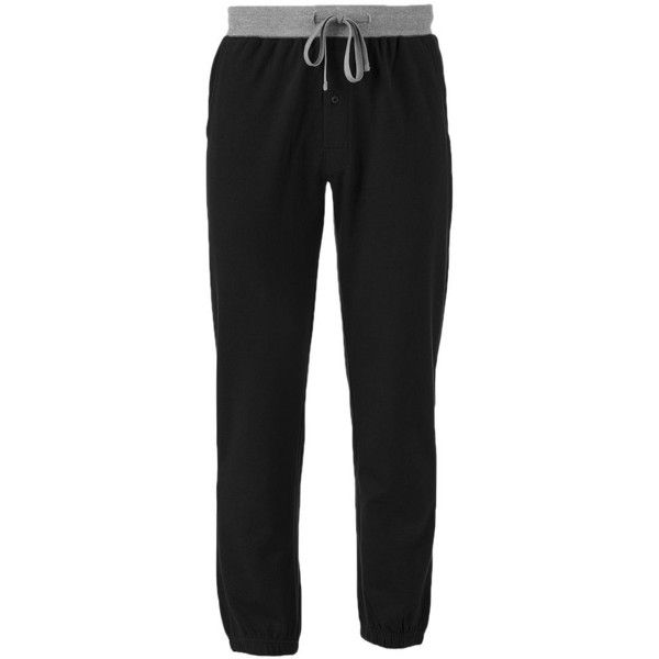 Big & Tall Men's Hanes Big & Tall Jogger Pants ($45) ❤ liked on Polyvore featuring men's fashion, men's clothing, men's activewear, men's activewear pants, black, mens activewear and mens activewear pants