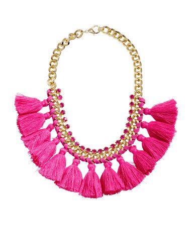 Tasseled Necklace