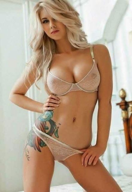 Blond russian porn star