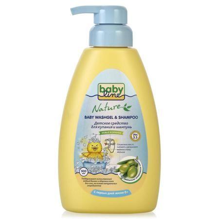 Средство для мытья волос и тела Babyline, 500 мл  — 330р. ------ Средство для мытья волос и тела Babyline - универсальный способ для малыша вновь стать чистым с ног до головы! Универсальная формула состава позволяет использовать средство каждый день, бережно очищая маленькие волосики и нежную кожу. Натуральные компоненты и оливковое масло деликатно защищают и питают кожу, сохраняя естественный водный баланс, не вызывая аллергии и раздражений.