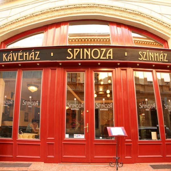 Spinoza Café - traditional Hungarian Jewish food. (1072 Budapest, Dob u. 15.)