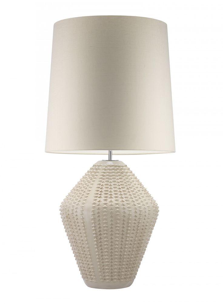 Hericus Antique Ivory Table Lamp - Heathfield & Co