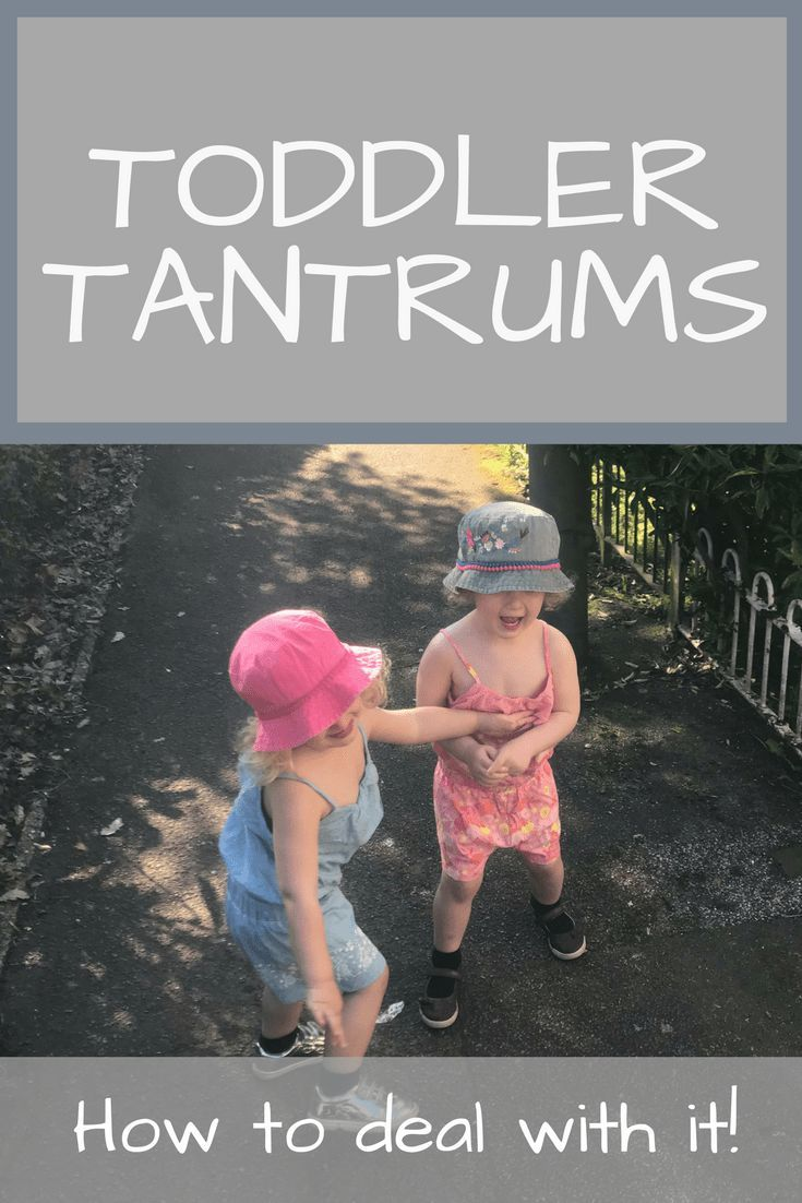 dealing with toddler tantrums Toddler tantrums are a part of every child's life why because the logical part (aka the frontal cortex) of a human's brain doesn't fully develop until age 25 it makes total sense that toddler tantrums occur over completely illogical things and ideas that part of their brain doesn't actually work yet.
