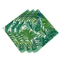 Brighten up your Summer parties with our Palm Leaf Tropical Napkins!  These cocktail napkins are the perfect addition to your Bar Cart and coordinate with our Palm Leaf Plates.