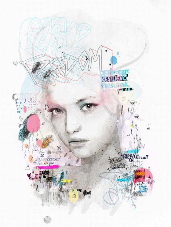 Creatieve combinatie van fashion fotografie en street art   Froot.nl