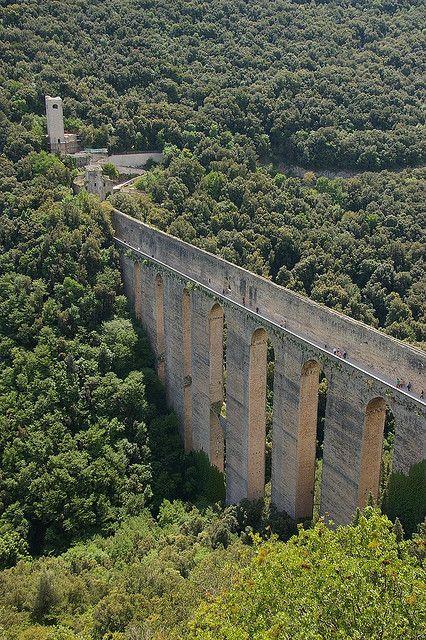 Spoleto - Ponte delle Torri, 14thC