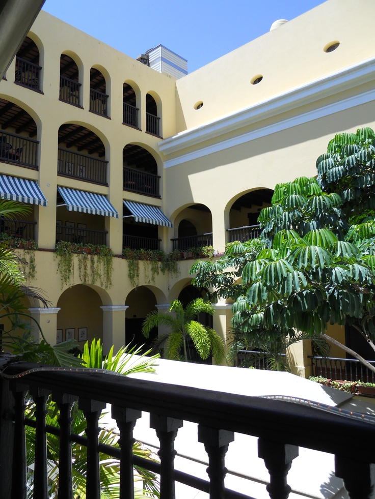 El convento courtyard puerto rico pinterest for House plans puerto rico