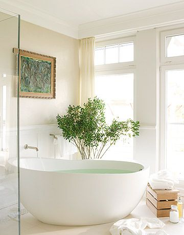 I am going to spend so much money on my master bathroom when I buy a house.