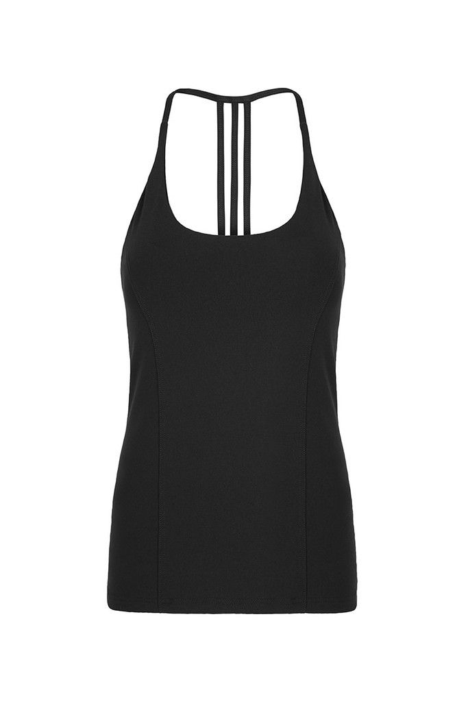 Black Freedom Flow Sports Tank – Dharma Bums Yoga and Activewear