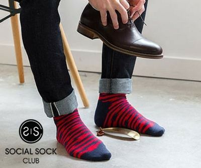 Social Sock Club has loads for you in store.Check out our Monthly sock subscription that is suitable for those who are unsure about the time period related to subscription.  socialsockclub.com