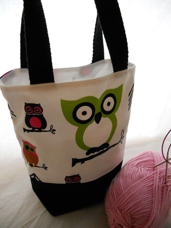 Free Tiny Tote Pattern - Cutest Little Bag Ever!