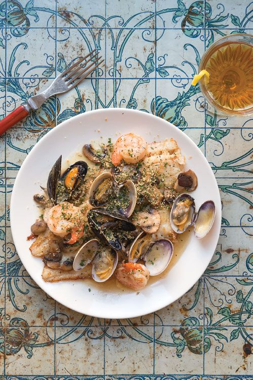 This  French shellfish-sauced dish is adapted from artist Henri de Toulouse-Lautrec's The Art of Cuisine. Toulouse-Lautrec used Dover sole, but any fillet—tilapia, turbot, or even salmon—will work.