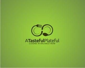 Simple logo design that conveys food