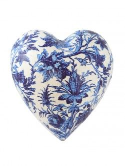 China Blue – Heart | Design Withdrawals