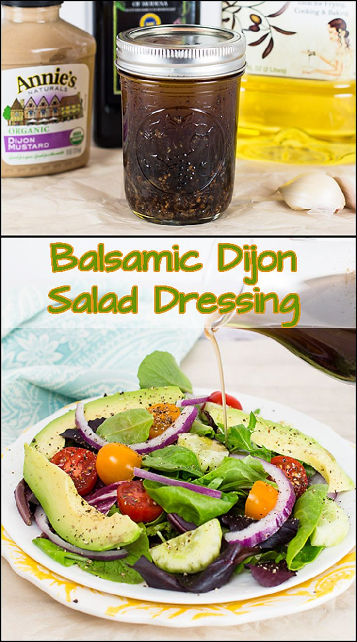 Whole 30 compliant Balsamic Dijon Salad Dressing!!   www.joyineveryseason.com