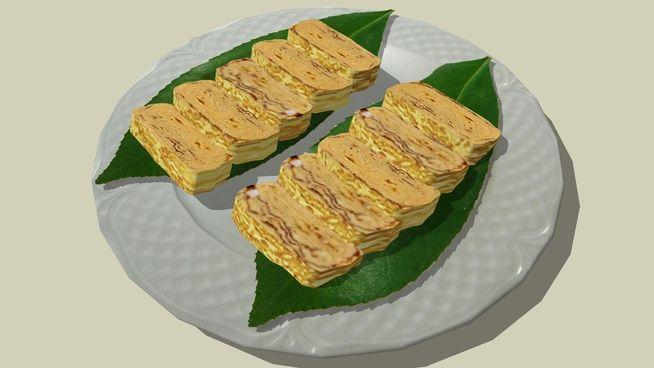 Tamagoyaki, Cucina Giapponese - 3D Warehouse