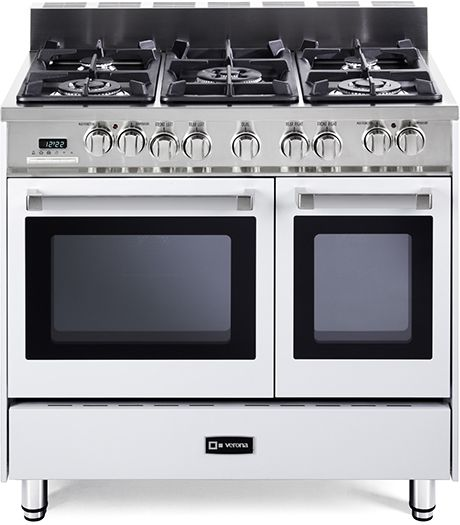 The 36 inch Verona range cookers come in 4 popular configurations - dual fuel, all gas, double and single oven.  16,000 RTU's