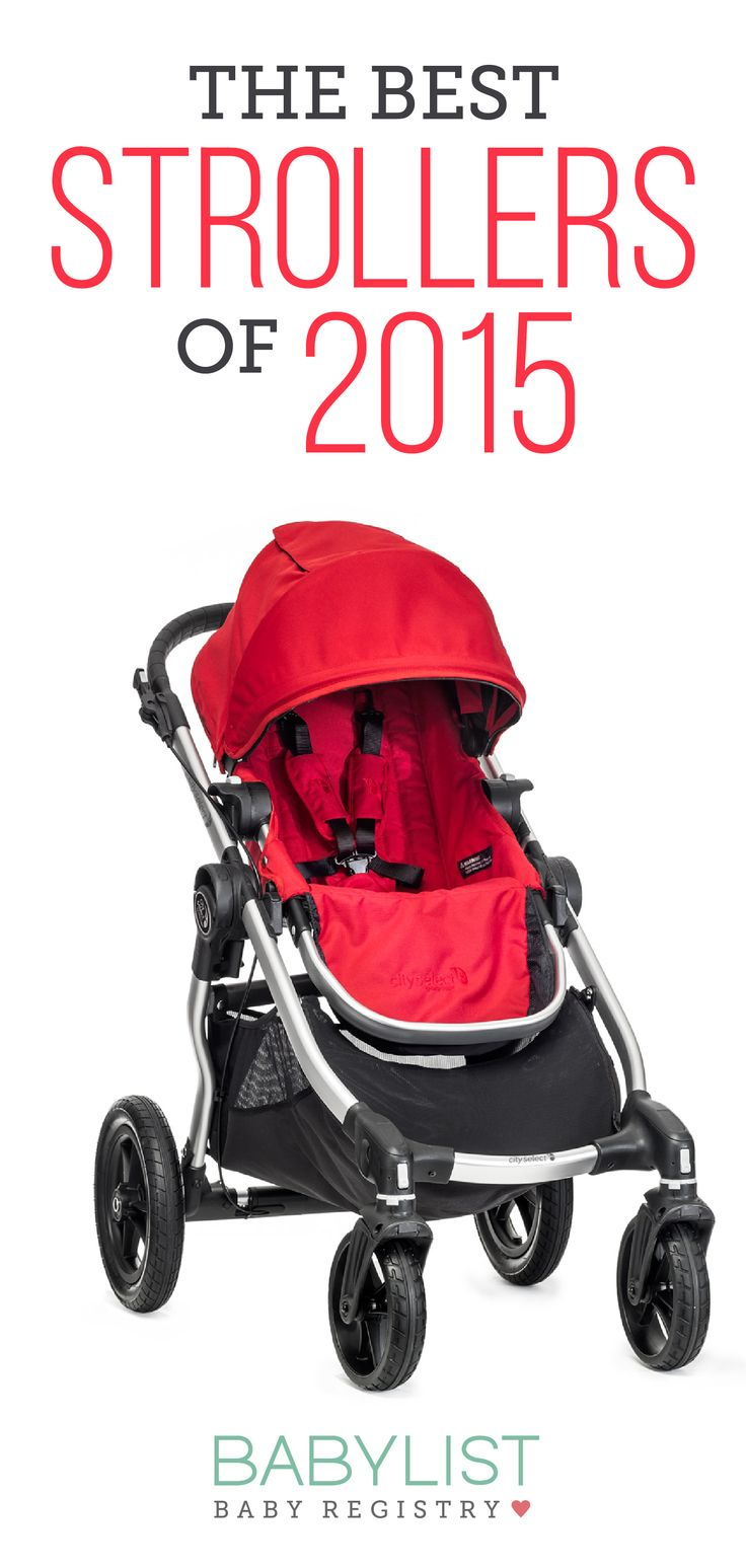 We love the Baby Jogger City Mini because it's lightweight and easy to fold up- you can even do it with just one hand! Check out our other picks for the Best Strollers of 2015.