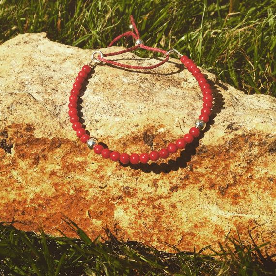 Sea Bamboo Stacking Bracelet by AppleBlossomJewel on Etsy