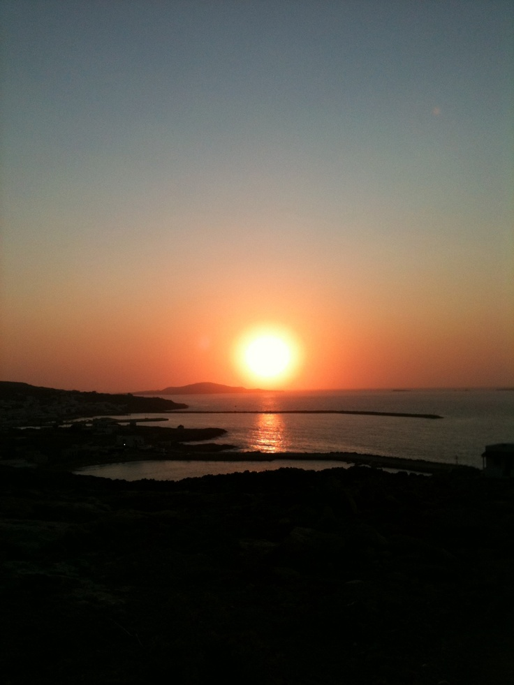 Sunset, Kasos
