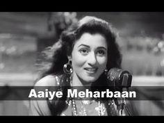 Aaiye Meharbaan - Madhubala, Ashok Kumar - Howrah Bridge - Evergreen Melodious Classic Hindi Song - YouTube