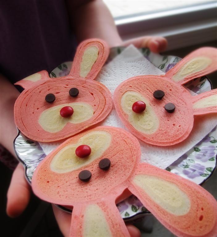 Bunny Pancakes Tutorial