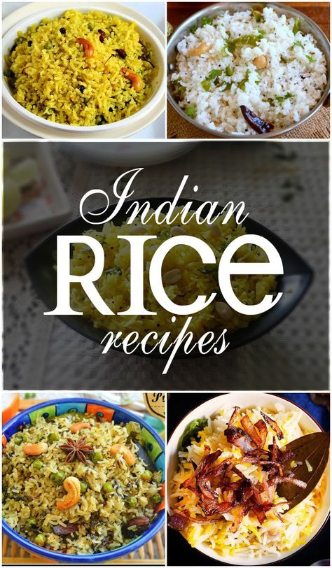 Rice is a staple food of India and each and every state has its own way of preparing rice. But did you know that there are almost 40,000 varieties of rice? And these varieties differ in color, size and texture. With such variety, no doubt it is one of the most versatile foods that can … #riceRecipes #VegRice #NonVegrice