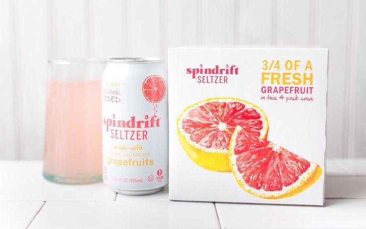 Spindrift Grapefruit Seltzer Water x 2