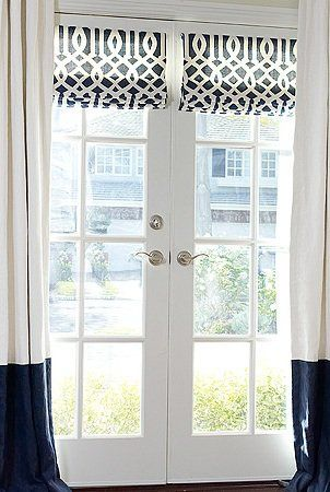 Best 25+ French door coverings ideas on Pinterest | Curtains or ...