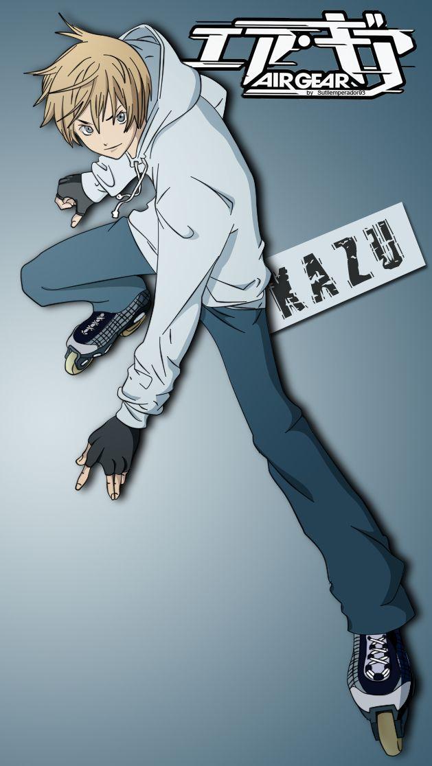 -- Air Gear -- Kazuma