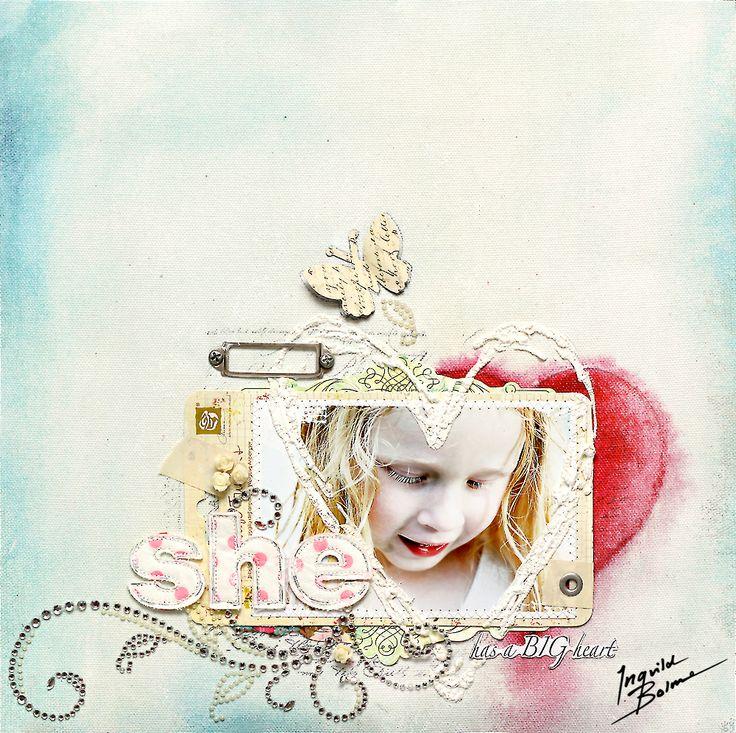 She has a BIG heart - Prima - made 2011