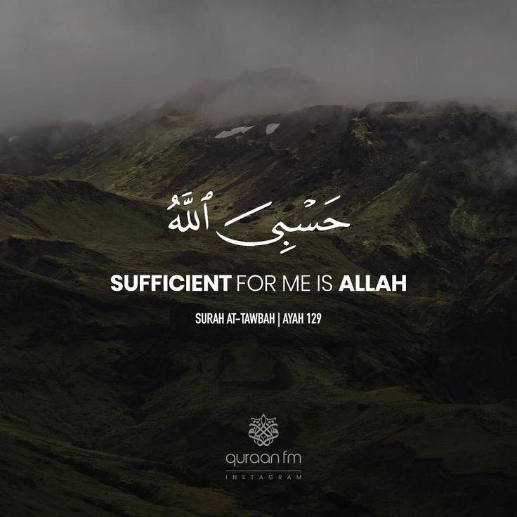 """Sufficient For Me Is Allah"" - [Surah At-Tawbah"