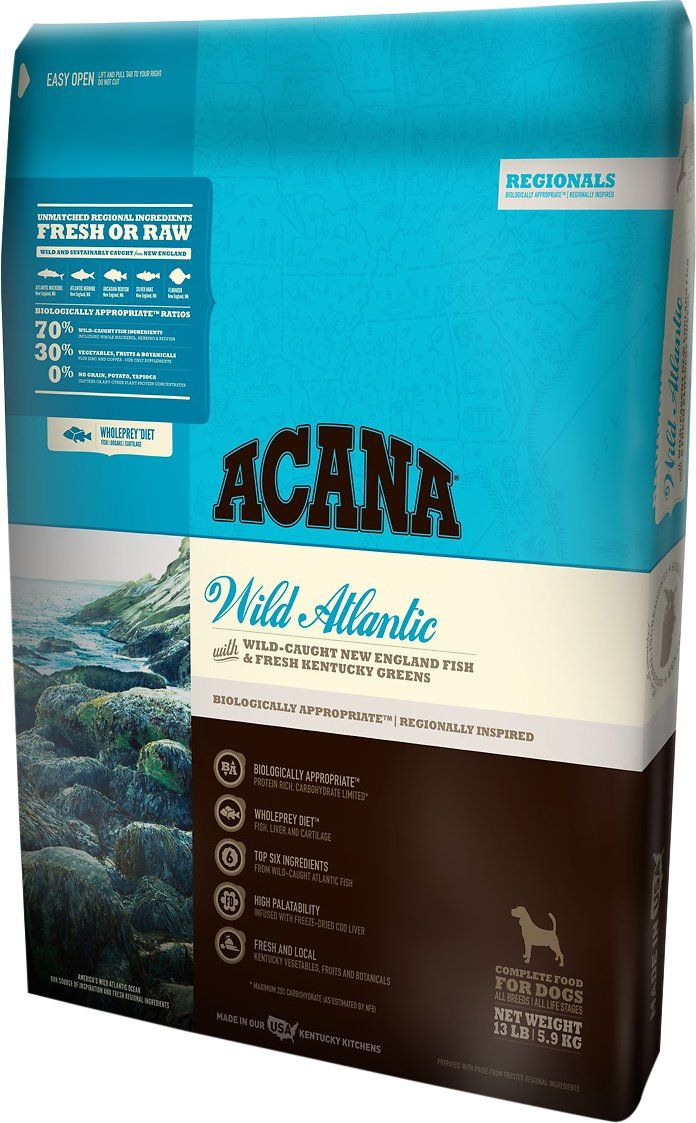 Acana Pacifica is supposed to be good to reset their digestive system from grains for allergies