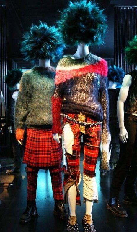 70s vivienne westwood punk inspired, Vivienne Westwood 1976-80. Clothing from Seditionaries