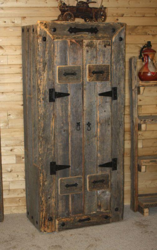 Barnwood Cabinet - Durango Trail Rustic Furniture, Bragg Creek, Calgary,  Alberta, Canada