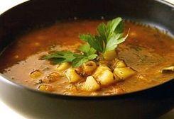 Romanian Potato Soup / Supa de cartofi romaneasca