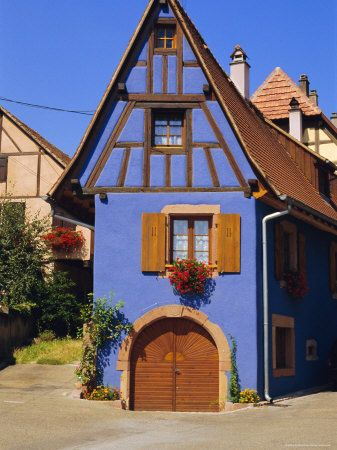 St. Hippolyte - Haut-Rhin dept. - Alsace région, France