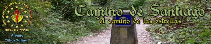 El Camino de Santiago - Pagina inicial del sitio Web de la Federación Española